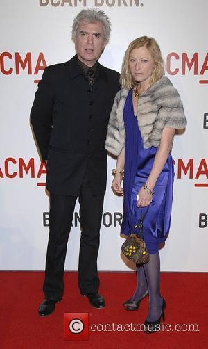 David Byrne and Adelle Lutz