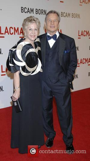 Michael York and Patricia McCallum Arrivals Opening celebration of the Broad Contemporary Art Museum at the Los Angeles County Museum...