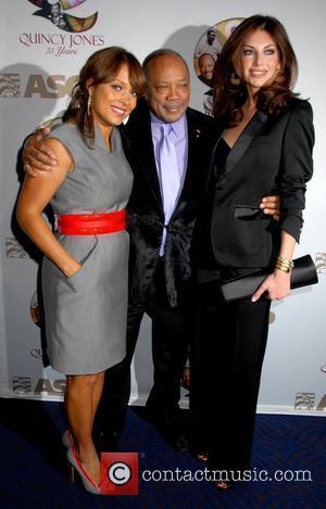 Tamia and Quincy Jones