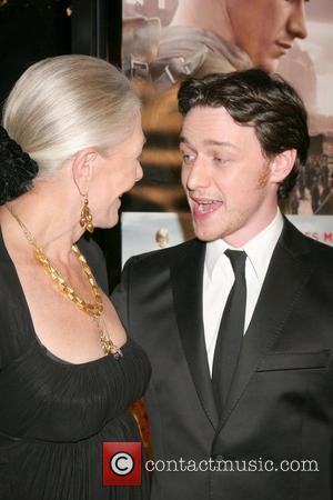 Vanessa Redgrave and James Mcavoy