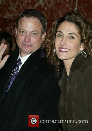 Gary Sinise & Melina Kanakaredes Opening night performance of 'August: Osage County' at the Imperial Theatre - Arrivals New York...