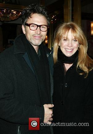 Tim Daly & Amy Van Nostrand  Opening night performance of 'August: Osage County' at the Imperial Theatre - Arrivals...