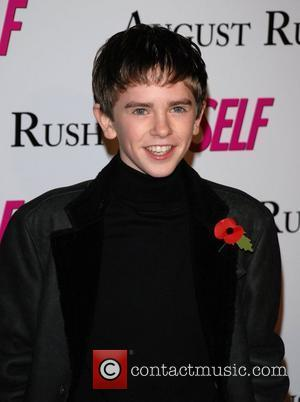 Freddie Highmore Premiere of 'August Rush' held at the Ziegfield Theater - Arrivals New York City, USA -11.11.07