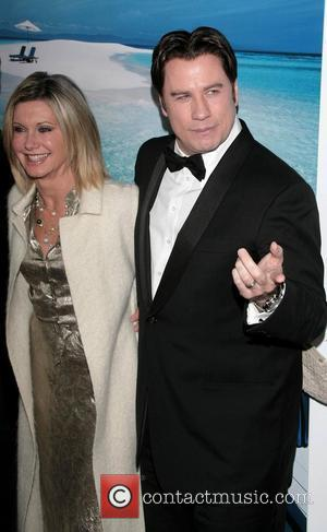 Olivia Newton-John and John Travolta The G'Day USA Australia.com Black Tie Gala Grand Ballroom, Hollywood and Highland Los Angeles, California...