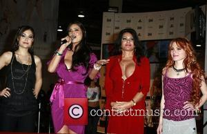 Sasha Grey, Tera Patrick, Teri Weigel and Jayme Langford at the opening ceremony of the AVN Adult Entertainment Expo 2008...