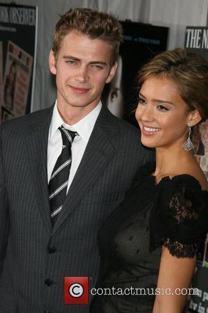 Hayden Christensen and Jessica Alba  Premiere of 'Awake' held at the Chelsea West Cinemas New York City, USA -...