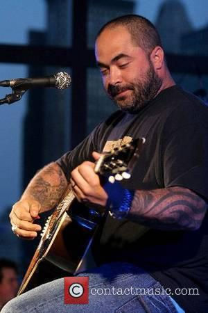 Aaron Lewis of Staind performs  'R Baby' fundraising event at the Mandarin Oriental Hotel New York City, USA -...
