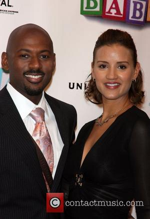 Romany Malco and Taryn Takha 2008 Tribeca Film Festival Opening Night - World Premiere of 'Baby Mama' at Ziegfeld Theatre...