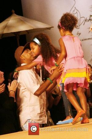 Russell Simmons and Children