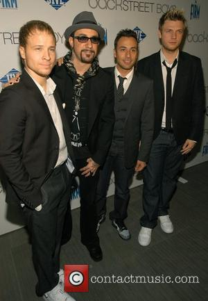 Brian Littrell, AJ McLean, Howie Dorough and Nick Carter Backstreet Boys celebrate the release of their fifth studio album 'Unbreakable'...