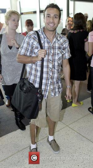 Howie Dorough The Backstreet Boys arriving at Sydney Airport Sydney, Australia. 21.02.08