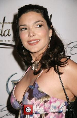 Laura Harring 2nd Annual Chris Webber Foundation's Bada Bling celebrity event weekend held at Caesars Palace Hotel and Casino Las...