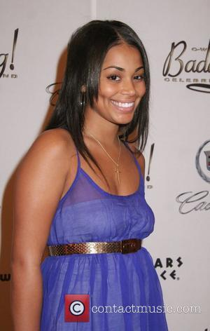 Lauren London 2nd Annual Chris Webber Foundation's Bada Bling celebrity event weekend held at Caesars Palace Hotel and Casino Las...