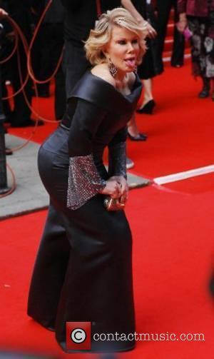 Joan Rivers, London Palladium, British Academy Television Awards