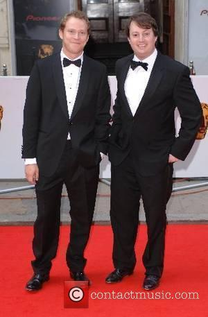 David Mitchell and Robert Webb 2007 British Academy Television Awards - Red Carpet Arrivals held at the London Palladium London,...
