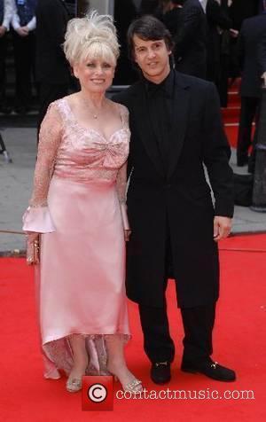 Barbara Windsor, Scott Mitchell  2007 British Academy Television Awards - Red Carpet Arrivals held at the London Palladium London,...