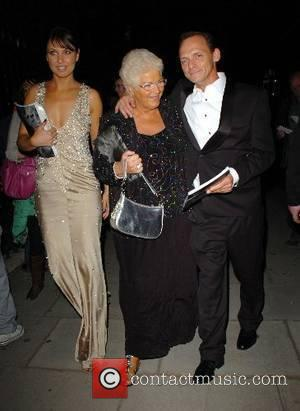 Emma Barton, Pam St Clement and Perry Fenwick leaving the BAFTA after party which was held at the Museum of...
