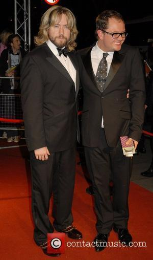 Justin Lee Collins and Alan Carr,  British Academy Television Awards (BAFTA) at the London Palladium - After Party London,...
