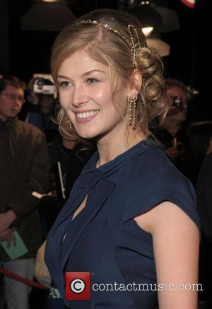 Rosamund Pike and Grosvenor House