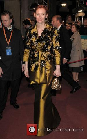 Tilda Swinton and Grosvenor House
