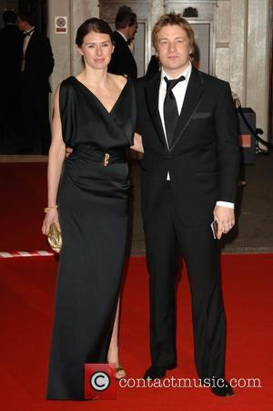 Jamie Oliver, Jools Oliver and British Academy Film Awards 2008