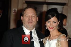Harvey Weinstein and Giannina Facio