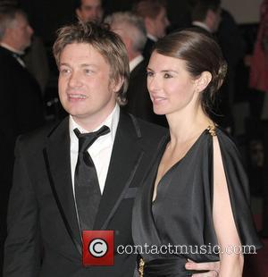 Jamie Oliver, Jooles Oliver and British Academy Film Awards 2008