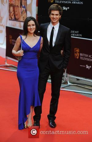 Andrew Garfield and guest British Academy Television Awards (BAFTA) at the London Palladium - Arrivals London, England - 20.04.08