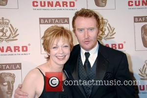 Frances Fisher and Tony Curran