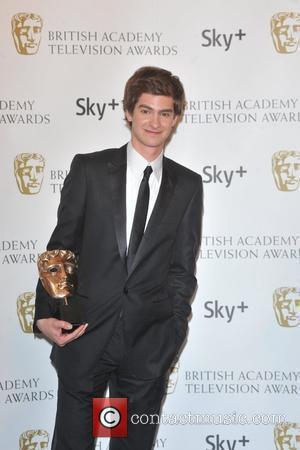 Andrew Garfield  with the Best Actor Award British Academy Television Awards (BAFTA) at the London Palladium - Winner Board...