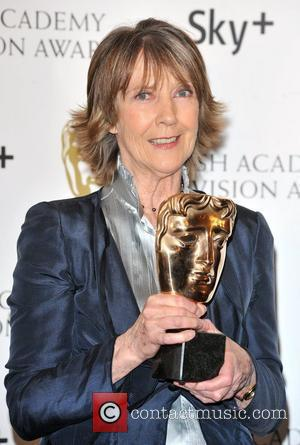 Dame Eileen Atkins  with the Best Actress Award British Academy Television Awards (BAFTA) at the London Palladium - Winner...
