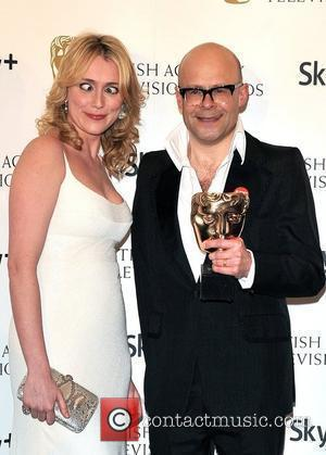 Harry Hill and Keeley Hawes British Academy Television Awards (BAFTA) at the London Palladium - Winner Board London, England -...