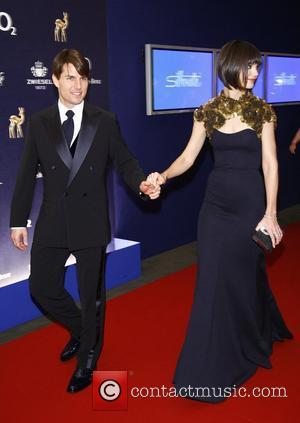 Tom Cruise, Katie Holmes 59th Bambi Awards at Congress Center - Red Carpet Arrivals Duesseldorf, Germany - 29.11.07