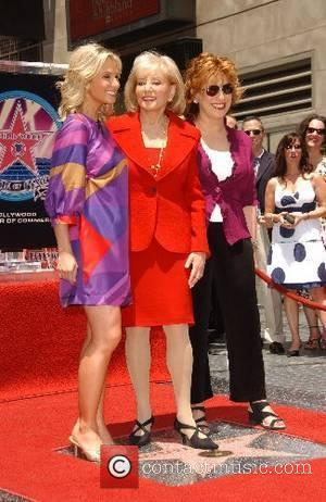 Elisabeth Hasselbeck, Barbara Walters, and Joy Behar Barbara Walters honored with the 2340th Star on the Hollywood Walk of Fame...