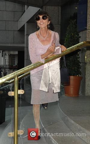 June Brown Barbara Windsor's 70th birthday party held at the Royal Garden Hotel - Arrivals London, England - 05.08.07