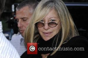 Barbra Streisand arrives at Paris Moskau Restraurant Berlin, Germany - 01.07.07