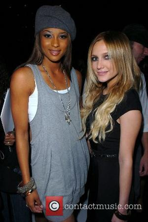 Ciara and Ashlee Simpson