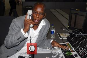 Ian Wright BGC Charity Day at Canary Wharf where stars help traders raise money for selected charities London, England -...