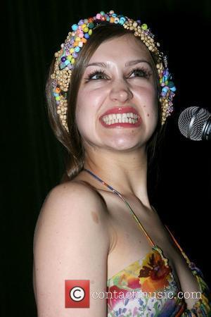 Joanna Newsom The BEautiful People Party at Hiro Ballroom New York City, USA - 02.04.08