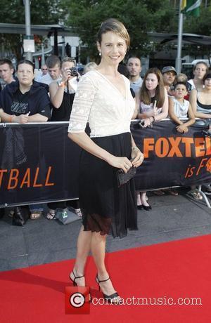Antonia Kidman and David Beckham