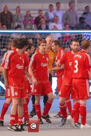 Euan Blair and David Beckham