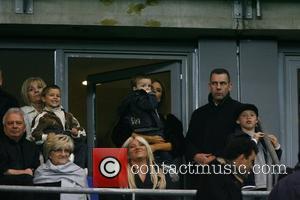 Victoria Beckham and Joanne Beckham
