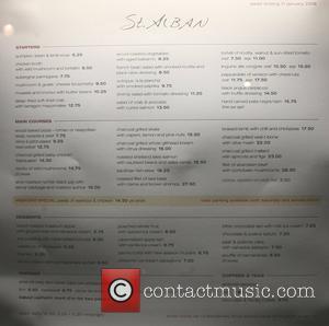 St. Alban Restaurant, David Beckham and Victoria Beckham