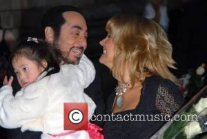 David Gest and Malandra Burrows The Bedrock Ball at the Natural History Museum - Arrivals The ball launches a new,...
