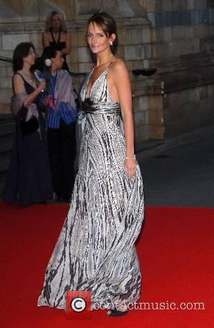 Saffron Burrows, The Natural History Museum London, The Bedrock Ball At The Natural History Museum