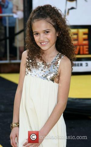 Madison Pettis Los Angeles film premiere of 'Bee Movie' held at Mann Village Theater - Arrivals Westwood, California - 28.10.07