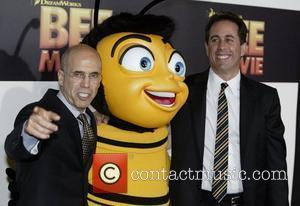 Jeffrey Katzenberg, Jerry Seinfeld and Seinfeld