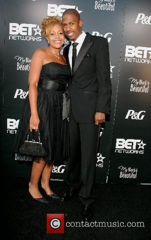 Nick Cannon and mother Beth Hackett Pre-BET Awards Dinner and Party - Arrivals at Boulevard3 Hollywood, California - 25.06.07