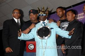 Flavor Flav and Public Enemy B.E.T.Awards 2007 held at The Shrine - Press Room Los Angeles, California - 26.06.07