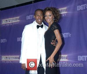 Nick Cannon and Selita Ebanks B.E.T.Awards 2007 held at The Shrine - Press Room Los Angeles, California - 26.06.07